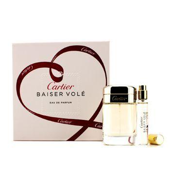 Cartier Baiser Vole Coffret: Eau De Parfum Spray 50ml + Eau De Parfum