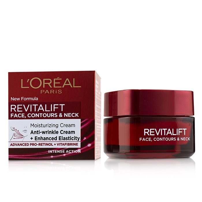 L-039-Oreal-Revitalift-Face-Contours-amp-Neck-Moisturizing-Cream-50ml-Moisturizers thumbnail 2