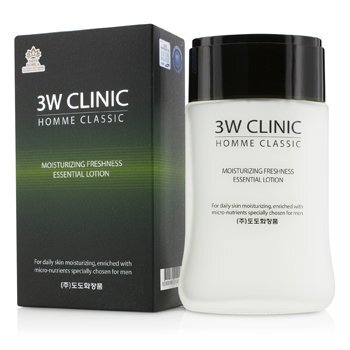 Image of 3W Clinic Homme Classic - Moisturizing Freshness Essential Lotion 150m