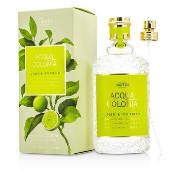 Image of 4711 Acqua Colonia Lime & Nutmeg Eau De Cologne Spray 170ml