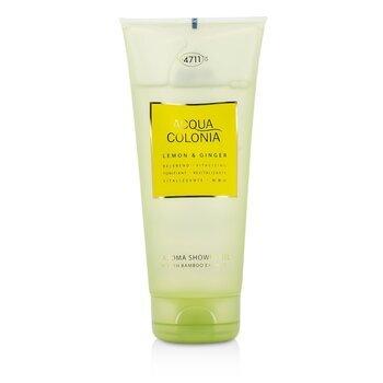 Image of 4711 Acqua Colonia Lemon & Ginger Aroma Shower Gel 200ml