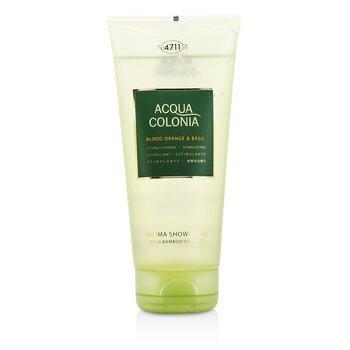 Image of 4711 Acqua Colonia Blood Orange & Basil Aroma Shower Gel 200ml