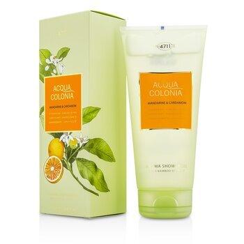 Image of 4711 Acqua Colonia Mandarine & Cardamom Aroma Shower Gel 200ml
