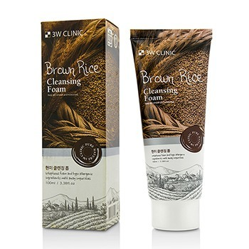 Image of 3W Clinic Cleansing Foam - Brown Rice 100ml