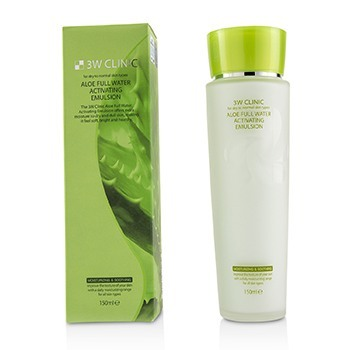 Image of 3W Clinic Aloe Full Water Activating Emulsion - For Dry to Normal Skin