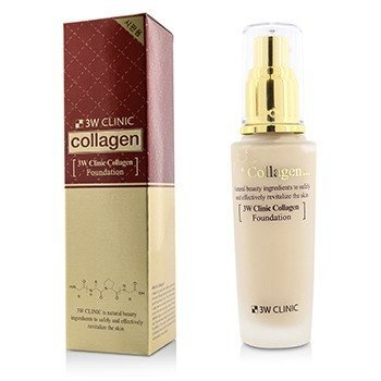 Image of 3W Clinic Collagen Foundation - # 21 (Transparent Beige) 50ml