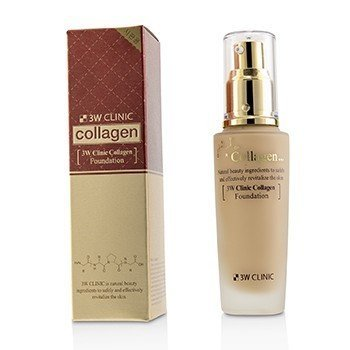 Image of 3W Clinic Collagen Foundation - # 23 (Natural Beige) 50ml