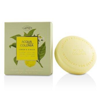 Image of 4711 Acqua Colonia Lemon & Ginger Aroma Soap 100g