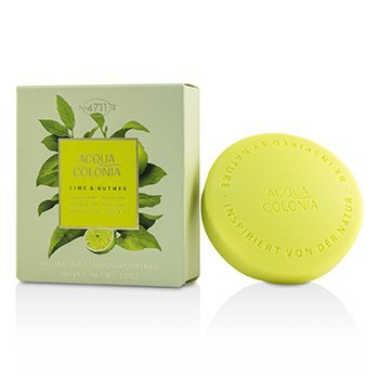 Image of 4711 Acqua Colonia Lime & Nutmeg Aroma Soap 100g