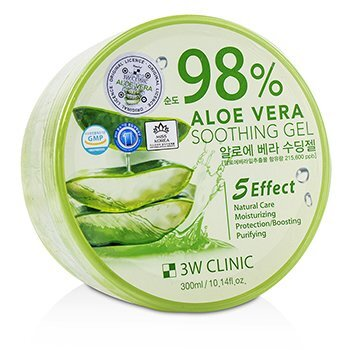 Image of 3W Clinic 98% Aloe Vera Soothing Gel 300ml