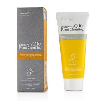 Image of 3W Clinic Coenzyme Q10 Foam Cleansing 100ml