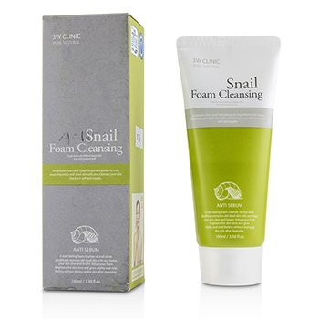 Image of 3W Clinic Snail Foam Cleansing 100ml