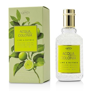 Image of 4711 Acqua Colonia Lime & Nutmeg Eau De Cologne Spray 50ml