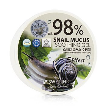Image of 3W Clinic 98% Snail Mucus Soothing Gel 300ml